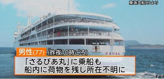 東海汽船の「さるびあ丸」