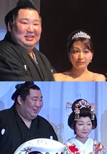 徳勝龍の結婚した嫁は千恵
